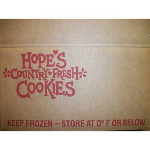 Hopes Gluten Free Chocolate Chip Cookie Dough, 1.5 Ounce -- 213 per case. by Hopes Country Fresh Cookies