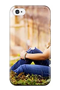 Durable Defender Case For Iphone 4/4s Tpu Cover(mood)