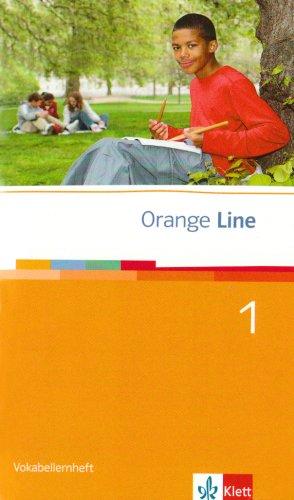 Orange Line / Vokabellernheft Teil 1 (1. Lehrjahr)
