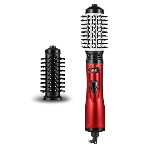 Hair Dryer With Brush, AOIEORD One Step Hair Dryer And Styler, Auto-rotating Detangle Hot Air Brush With 2 Brush Attachments