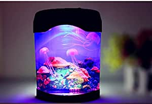 Mingyaa novelty led artificial jellyfish for Fish tank night light
