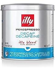 illy Decaffeinated Medium Roast IperEspresso Capsules, 140 g