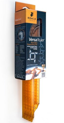 Versa Ruler Multi-sided Ruler and Shape-making Tool (4-pack) - Drafting Machine Scale