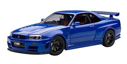 AUTOart 1/18 NISMO R34 GT-R Z-tune (Bayside Blue)