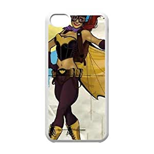 Batgirl Fly Gotham City Airlines iPhone 5c Cell Phone Case White phone component RT_227672