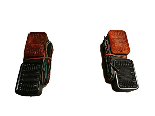 John Deere rear marker light set 4210 4310 4410 4510 4610 4710 LVA14391 LVA14392