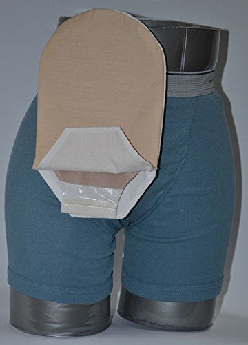 (C & S Ostomy Pouch Covers Cx582801 Daily Wear Pouch Cover, Open End, Fits Flange Opening Of 3/4 To 2-1/4, Overall Length 10, Tan,C & S Ostomy Pouch Covers - Each 1 by C & S OSTOMY POUCH COVERS )