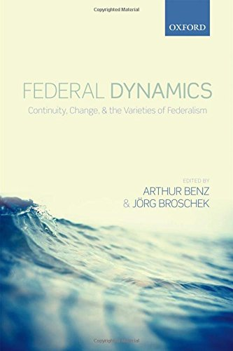 Federal Dynamics: Continuity, Change, and the Varieties of Federalism