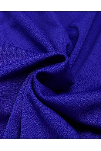Ragazze Monocromo Moda Libero Waist Larghi Pantaloni High Primaverile Elegante Blu Colpo Giovane Cintura Tempo Pantaloni Casual Donna Pantaloni Pantalone Autunno Lunga Inclusa PtTq8wf