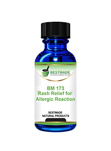 Bestmade Natural Products Rash Relief For Allergic Reaction   Urticaria Natural Remedy   Bm173