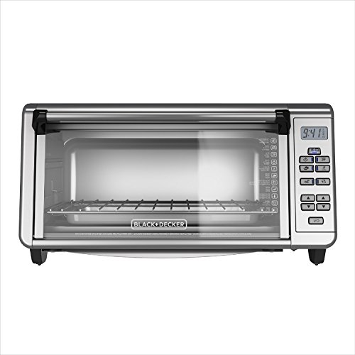 BLACK+DECKER TO3290XSD TO3290XSBD Toaster Oven, 8-Slice, Stainless Steel by BLACK+DECKER (Image #7)