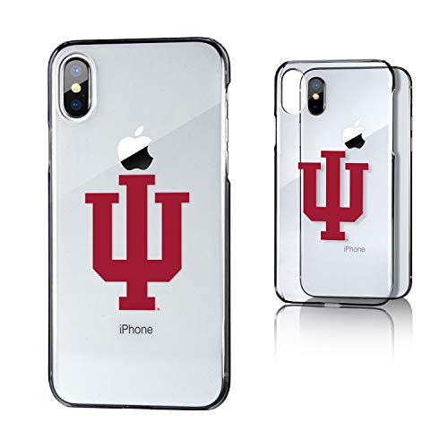 Keyscaper KCLRIX-00IU-INSGN1 Indiana Hoosiers iPhone X/XS Clear Case with Insignia Design