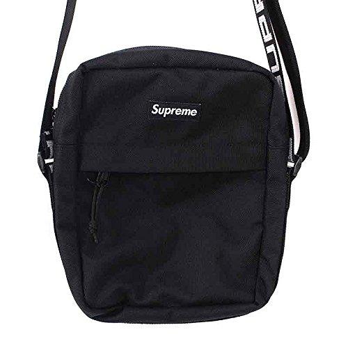 (シュプリーム) SUPREME 【18SS】【Shoulder Bag】ボックスロゴナイロンショルダーバッグ(ブラック) 中古 B07F1LHZG2