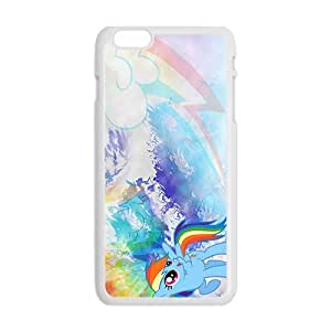 QQQO My little pony Case Cover For iPhone 6 Plus Case Kimberly Kurzendoerfer