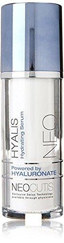 Neocutis Hyalis 30 Ml, 1-ounce (2-Pack) ,Vantage Point Trading Anti-Aging Cosmetic Blender Sponge Bundle.