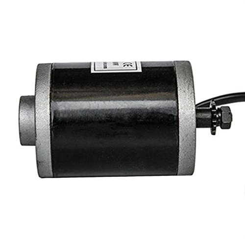 100 W 24 12 V DC electric motor zy6812 f scooter go-kart or minibike 3M Belt DP (Synchronous wheel)
