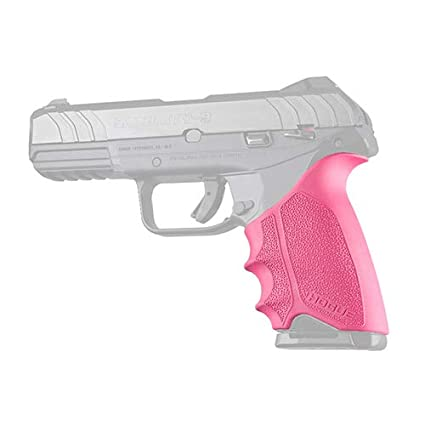 Hogue 17707 HandAll Beavertail Grip Sleeve, Ruger Security 9, Pink