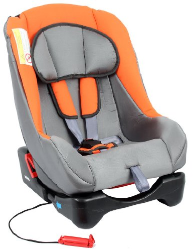 UNITED-KIDS Autokindersitz GALAXY, PO Grey01 - Orange (0-18 kg) Sonderpreis wegen Lagerräumung