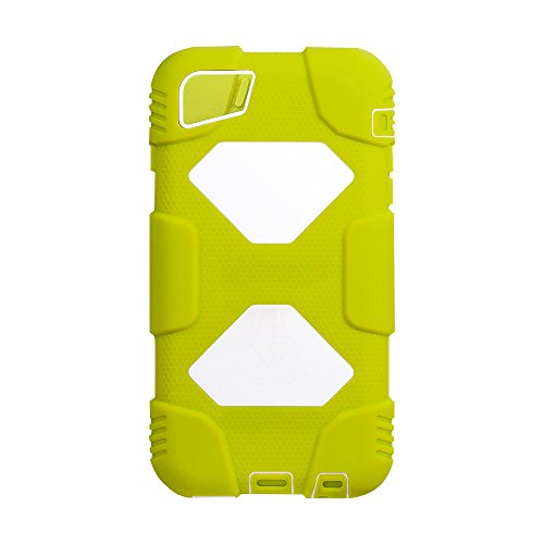 New Version V3.5 Warrior Series IPHONE 6S PLUS Case Cover Military Shock Proof Slim Fit 2016 (Olivine/White)