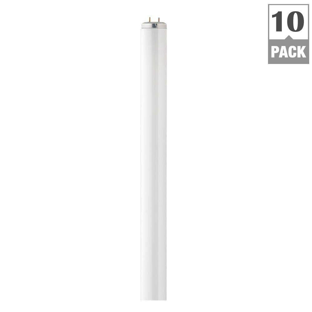 4 ft. T12 40-Watt Natural Supreme (5000K) Linear Fluorescent Light Bulb (10-Pack)