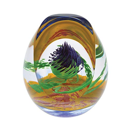 - Caithness Glass L19018 Limited Edition Scottish Royal Thistle Paperweight