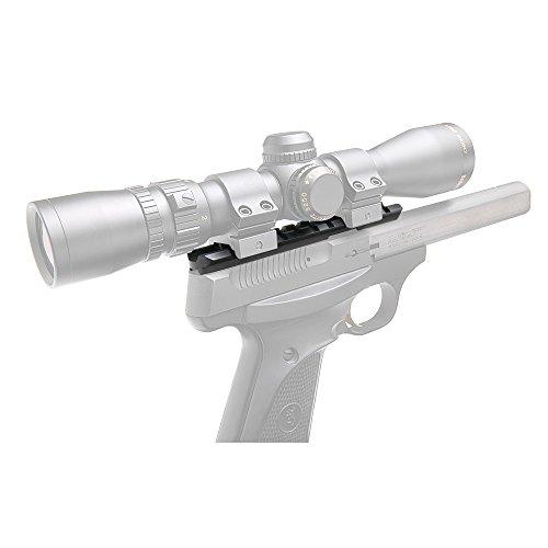 B-Square Browning Buckmark .22 Universal Pistol Scope Mount, Matte Black Finish (Buckmark Camper compare prices)