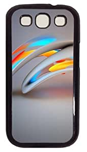 3D Abstract PC For For HTC One M7 Case Cover Black