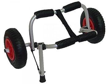 Carro para Kayak con estructura de aluminio y ruedas neumáticas: Amazon.es: Deportes y aire libre