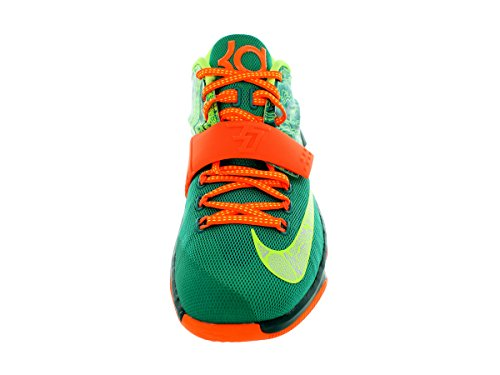 Nike - KD Vii - Color: Arancione-Verde - Size: 45.0
