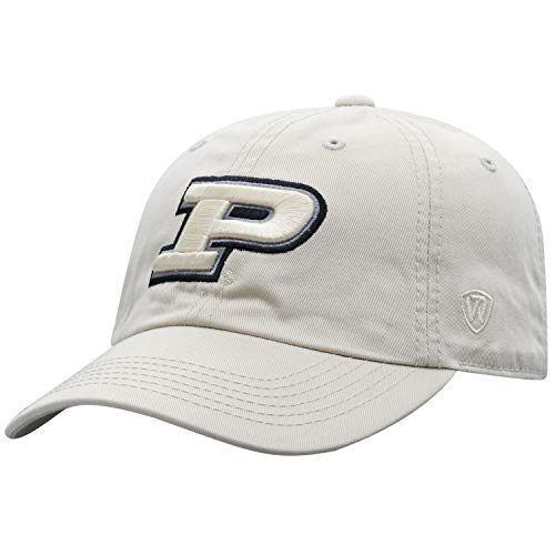 (Top of the World Purdue Boilermakers Men's Hat Icon, Gold, Adjustable)