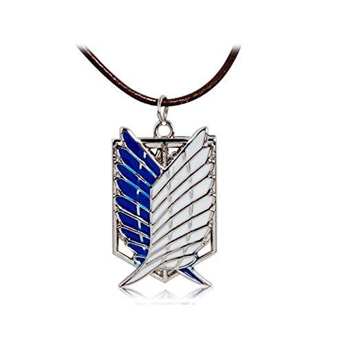 OliaDesign Attack Titan Pendant Necklace