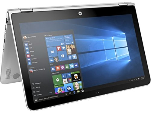 HP Pavilion x360 15t Touch 2-in-1 Convertible Notebook - Silver (15.6