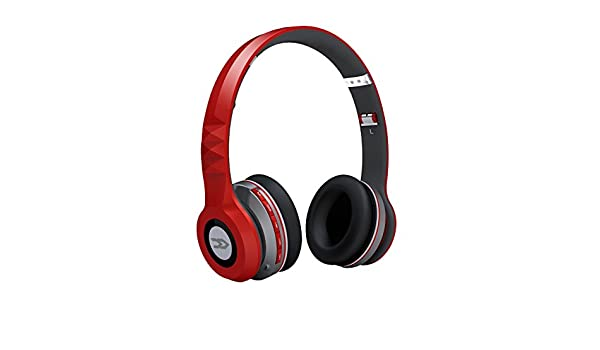 Avenzo AV601RJ - Manos libres Bluetooth, color rojo: Amazon.es: Electrónica
