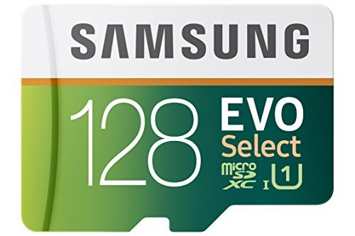 Samsung 128GB 80MB/s EVO Select Micro SDXC Memory Card (MB-ME128DA/AM) by Samsung