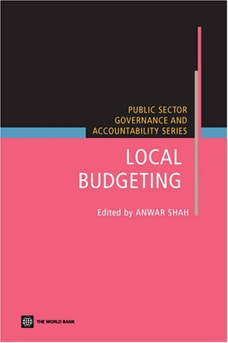 Local Budgeting (Public Sector Governance and Accountability)
