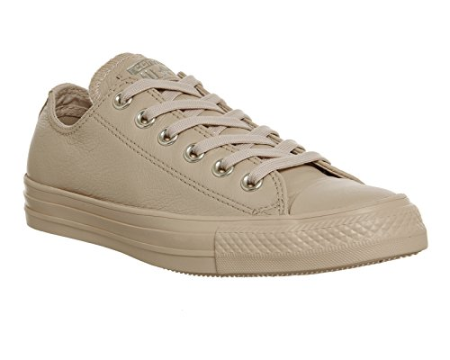 r All Star Lo Sneaker (Mens 6/Womens 8, Ivory Cream Light Gold Exclusive 9479) ()