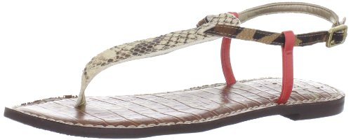 Bar T Sam Women Beige Edelman Sandals Gigi wZCqICT