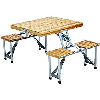 Leisure Season PFT12 Portable Folding Picnic Table