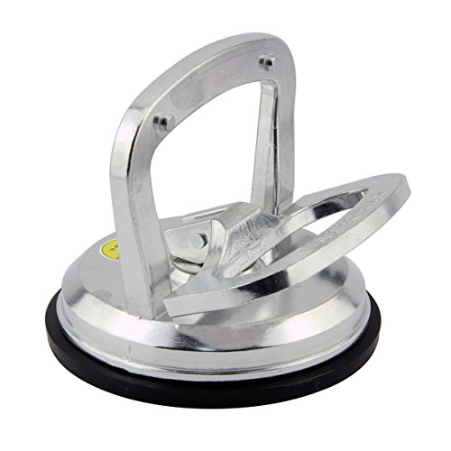 Leadrise® 5 inch Aluminum Suction Cup Puller Lifter 110 Lbs. Dent Remover,glass, Mirror,heavy Duty