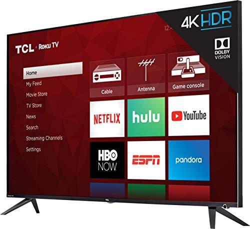 عروض TCL 55R617 55-Inch 4K Ultra HD Roku Smart LED TV (2018 Model)