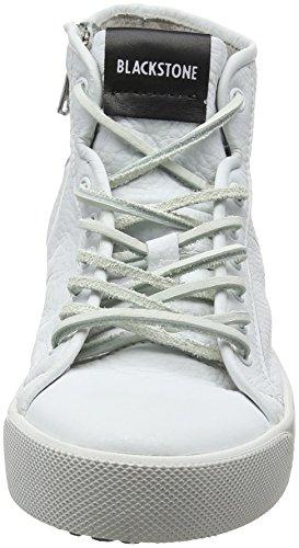 para Blackstone Zapatillas Pl70 Mujer Altas White White Blanco Pqp1wxq