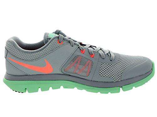 Nike Women's Flex 2014 Rn Lt Mgnt Gry/Brght Mng/Grn Glw Running Shoe 5.5 Women US I6jZ1SF