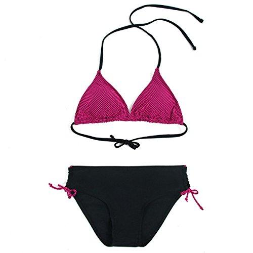 La Sra HAOYUXIANG2017 Bikini Atractivo Pink