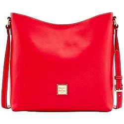 Dooney & Bourke Saffiano Hobo Crossbody Shoulder Bag