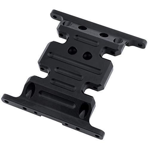 - Hobbypark Aluminum Center Frame Brace Transmission Skid Plate for AXIAL SCX10 1/10 RC Rock Crawler Car Option Parts (Black)