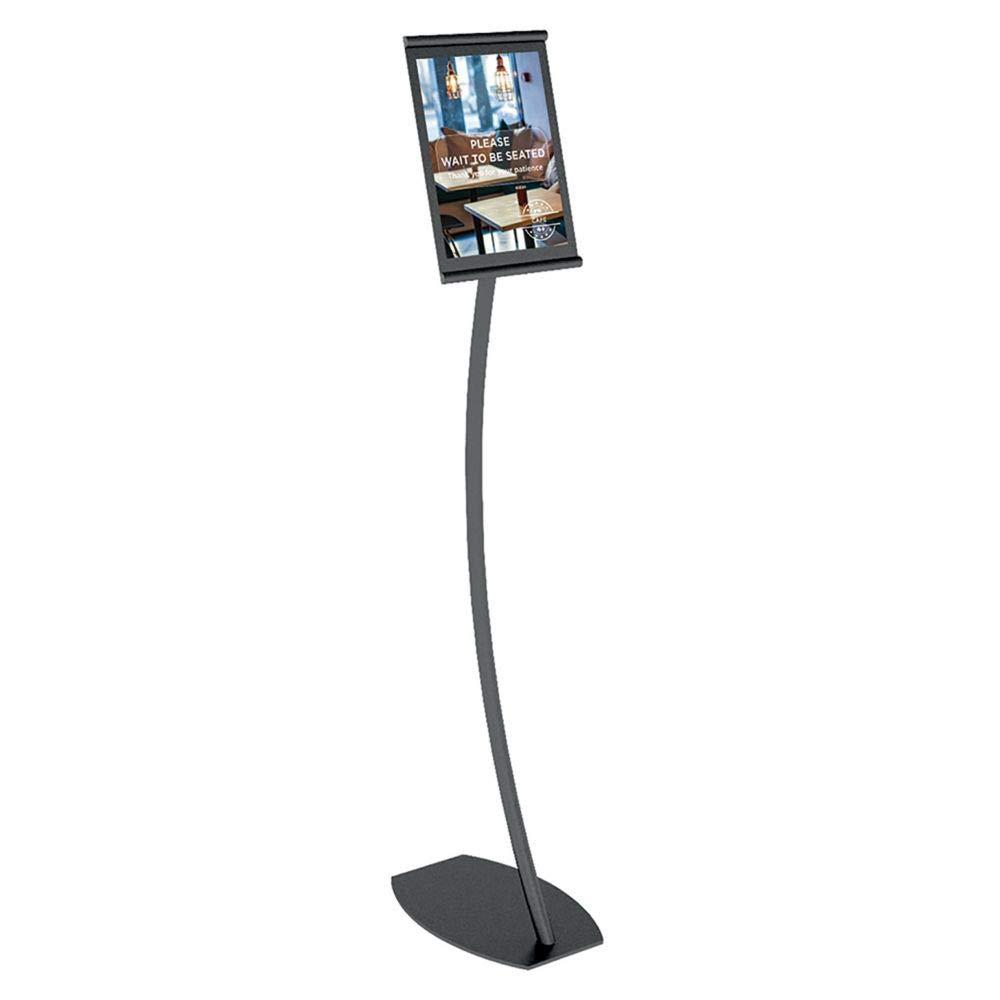 Amazoncom Vgs Ln Lfa Ltr Bk Tb Linea Black Freestanding Display