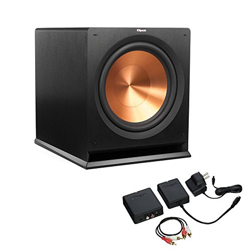 Cheap Klipsch R-115SW Subwoofer with WA-2 Wireless Subwoofer Kit