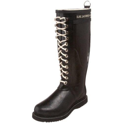Jacobsen unisexes en bottes caoutchouc pour Gants noires adultes Wellington Isle noir PwHS55