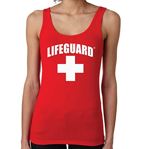 LIFEGUARD Officially Licensed Womens Printed Tank Top