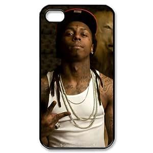 Custombox Lil Wayne Iphone 4/4s Case Plastic Hard Phone case-iPhone 4-DF01764